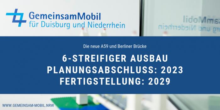 Die neue A59 und Berliner Brücke