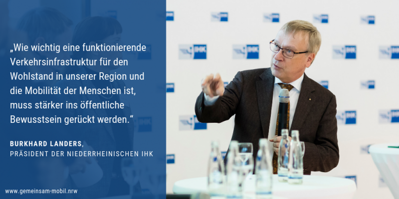 Zitat zur Bündnis Gründung von Burkhard Landers