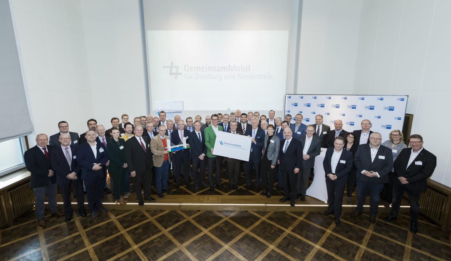 Viele Unternehmerinnen und Unternehmer vom Niederrhein unterstützen das Bündnis für Moblität #GemeinsamMobil.