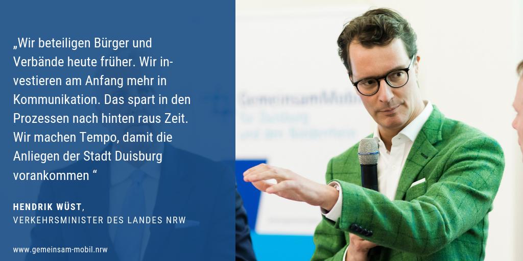 Ein Zitat zur Bündnis Gründung von Hendrik Wüst